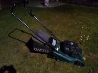 Hayter Harrier 41 Petrol Push lawn mower with roller