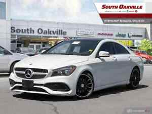 2017 Mercedes Benz CLA 250 4MATIC|AWD|LOW KMS|NAVIGATION|PANO RO