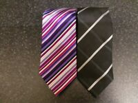 Men's Ties quantity 2, Hathaway and George, Very Good Condition