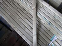 Timber decking handrail 32mmx66mmx1.8m