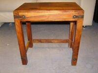 Solid Oak Coffee Side Table
