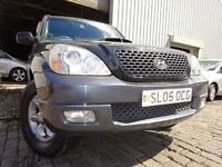 05 HYUNDAI TERRACAN CRTD 2.9 DIESEL,MOT MAY 017,2 OWNERS,PART HISTORY,VERY CLEAN EXAMPLE 4X4