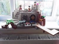 Playmobil Soldiers Fort with Dungeon.