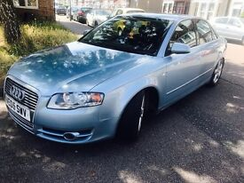 Audi A4 tdi sport 6 speed manual 180 bhp