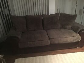Large 3 seeter sofa