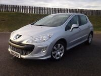 2010 PEUGEOT 308 SPORT 1.6 HDI 90PS - 79K MILES - F.S.H - GREAT SPEC - £30 RFL - 3 MONTHS WARRANTY