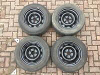 BMW WINTER WHEELS X4 - Continental tyres radial tubeless 205/60 R16 92H M S