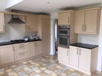 Large kitchen for sale - beech shaker style. Available now!