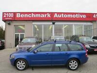 2007 Volvo V50 2.4L-2 SETS OF TIRES-LEATHER-ROOF-CLEAN CARPROOF