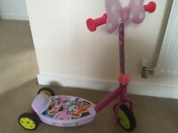 Minnie Mouse Scooter for a baby