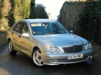 FULLY LOADED -MERCEDES C CLASS C220 CDI CLASSIC SE AUTO- FULL LEATHER SERVICE HISTORY-DRIVES PERFECT