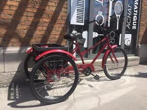 Vélo tricycle pour adulte 20'' Huffy Ultra Glide 3 vitesses ( i013237 )