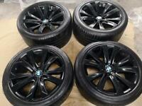 BMW X5 alloys with tyres