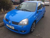 Renault Clio 182 Cup Racing Blue. SOLD