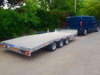 Dale Kane lowloader car plant machinery transporter tri axle trailer