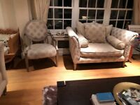 2 x3 seater sofas, 1x2 seater and 2 chairs