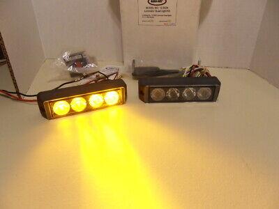 Sho-me 12.5004 Amberamber Led Quad Light Kit Self Flash New Inv30
