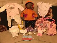 Baby Annabell Baby Born doll Zapf Creation with clothes and accessories