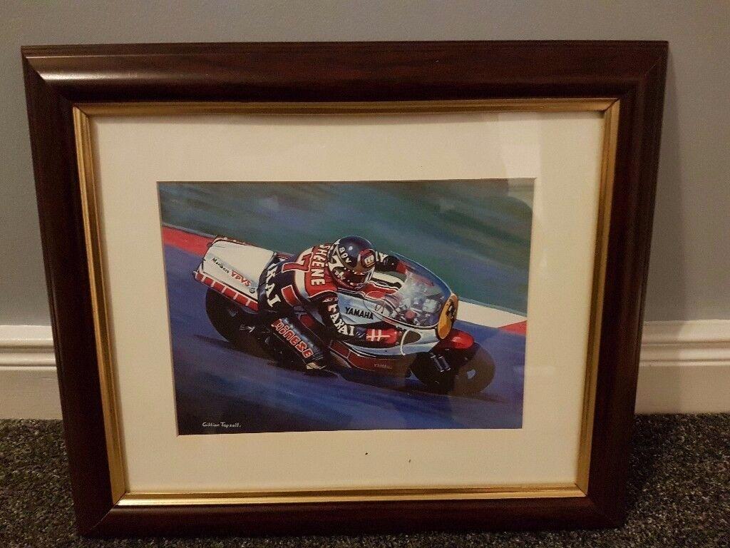 Barry Sheene Motorbike print