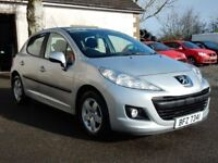 2010 peugeot 207 1.4 petrol verve with only 67000 miles, motd feb 2019