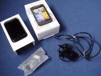 HTC Wildfire - Black (O2) Smartphone