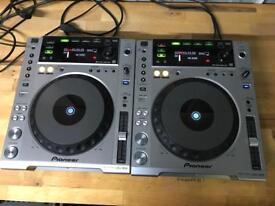 2x Pioneer CDJ 850 DJ decks - V good condition pair