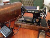 1926 singer sewing machine.