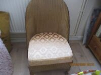 LLYDD LOOM NURSING CHAIR IN VERY GOOD CONDITION