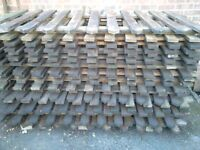 Picket Fencing approx 19 panels 1800mm x 90mm
