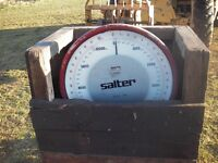salter 10ton weight scales