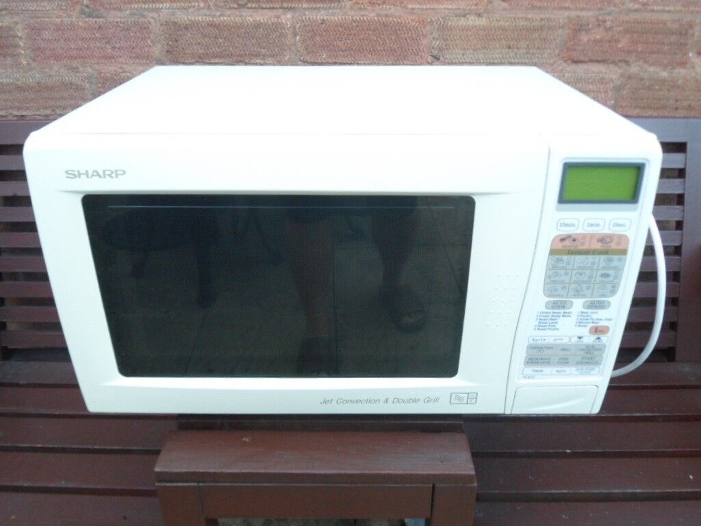 Sharp Microwave Oven Jet Convection Double Grill