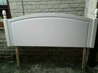 Plate rack and headboard