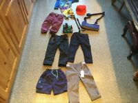 BOYS BUNDLE AGE 1-2 YRS of 9 items. 1 NEW WITH TAGS others IMMACULATE CLEAN CONDITION.