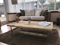 Rustic Handmade One-Off Coffee Table