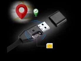iPhone cable with GPS and spy listening
