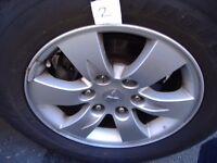 l200 set x4 wheels/tyres 17 inch