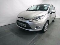 Ford Fiesta Zetec TDCI 5 door HatchBack 2010 silver color 12 months MOT
