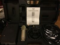 RODE K2 VALVE MICROPHONE, with brand new Electro Harmonix gold replacement valve