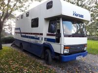 PRB 7.5 tonne horse lorry in excellent condition