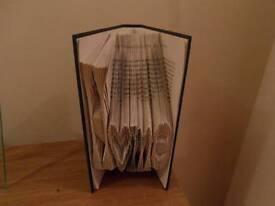 Home Book Fold Decor