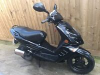 Peugeot Speedfight 2 100cc scooter moped 12 months mot