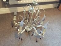 5 Light Chandelier In Good Working Order