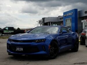 2018 Chevrolet Camaro 1LS 1LS, REAR VIEW CAM, STICK, ONE OWNE...