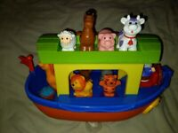 Chad Valley musical Noah's Ark toy