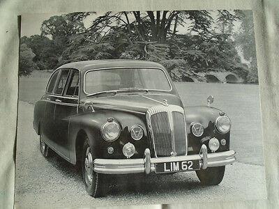 Daimler Limousine Press Photo brochure c1960's No 1