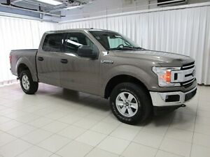 2018 Ford F-150 XLT 4X4 ECOBOOST 4DR 6PASS w/ BACKUP CAMERA, BLU