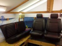 VW GOLF MK2 (90's) front and rear seats