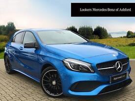 Mercedes-Benz A Class A 200 D AMG LINE PREMIUM (blue) 2016-03-21