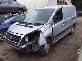FIAT SCUDO VAN 1.6 JTD MULTIJET GREY(EZRC) 5 DOOR 2007-2014 INDICATOR BREAKING