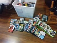 DVD & Xbox 360 Game Selection - 50 plus